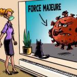 COVID19/Force Majeure Comic